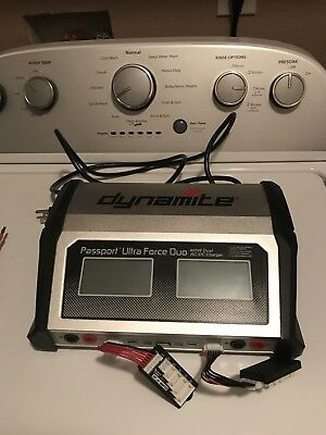 Dynamite Passport Ultra Duo 400W Dual Ac Dc Touch Screen Rc Battery Charger !!