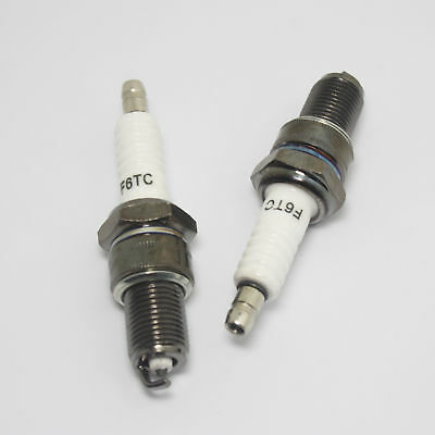 New F6TC Spark Plug For Various Strimmer Lawnmower Cutter Engine Generator