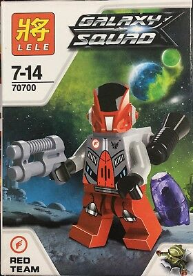Lego Compatible Galaxy Squad Educational Building Block Space War for Age 3+