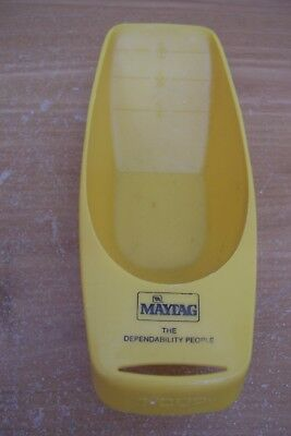 (Ad 89) Vtg Maytag Advertising The Dependability People Plastic Laundry Scoop