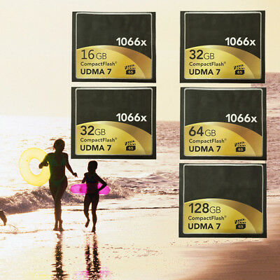 High Speed Compact Flash  CF Momery Card 160MB/s For Camera 16GB 32GB 64GB 1066x