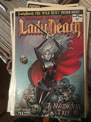 LADY DEATH A MEDIEVAL TALE #11 NM 1st Print CROSSGEN Brian Pulido LAST ISSUE