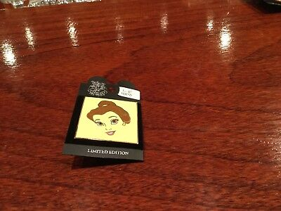 disney auction pin belle picture frame le 1000 retired