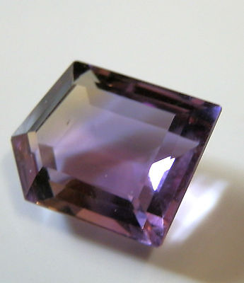 Natural earth-mined free-form Ametrine... quality gem..9.7 Carat