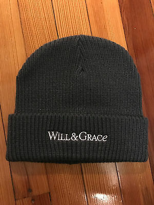 Will and Grace Promotional 2017 Beanie Hat from Tribeca TV Festival Premiere NEW