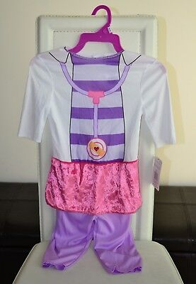 doc mcstuffins costume toddler girls 3t-4t brand new with tags