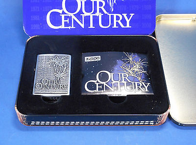 Zippo Lighter Our Century in Original Box
