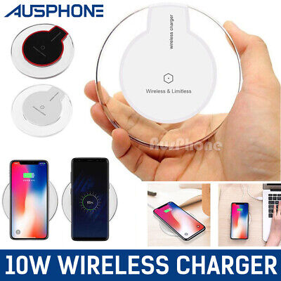 iPhone 8 8 PLUS X QI Wireless Speed Charger Charging Pad Mat Receiver For APPLE