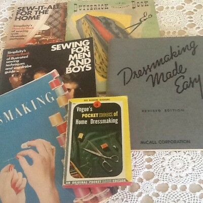 Vintage Pattern Company Sewing Dressmaking Books Manuals