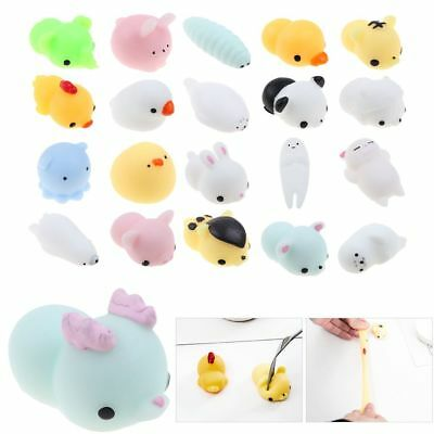 Funny Anti-Stress Face Pressure Relief Animal Autism Mood Vent Squeeze Toys Gift