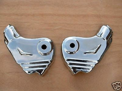 Lambretta Stainless Steel Fork Covers - Brand New