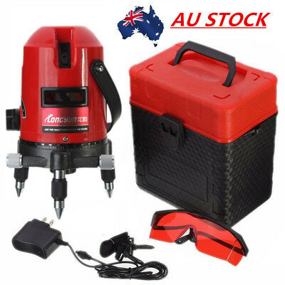 AU Professional 5 Line 6 Point 4V1H Laser Level Automatic Self Measure Leveling