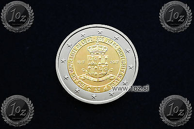 BELGIUM 2 EURO 2017 ( University of Liege ) Commemorative Coin * UNCIRCULATED