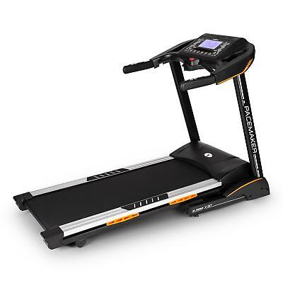 Pacemaker Treadmill Exercise Trainer Heartrate Monitor Folding Black * Free P&p*