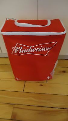 Budweiser  insulated BACKPACK BEER bag HOLDS 24 cans