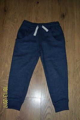 Baby Boys Next Blue Joggers Age 2-3 Years