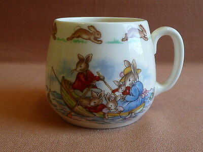 Royal Doulton Bunnykins Mug Cup Excellent Condition