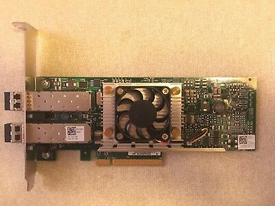 Dell N20Kj Broadcom 57810S Dual Port 10Gb Direct Attach/sfp+ Network Adapter