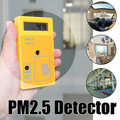 PM2.5 Particle Detector Haze Dust Air Quality Monitoring Analyzer Meter Sensor