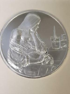100 Greatest Masterpieces - 2.08oz Sterling Silver Proof - Mary Magdalene......