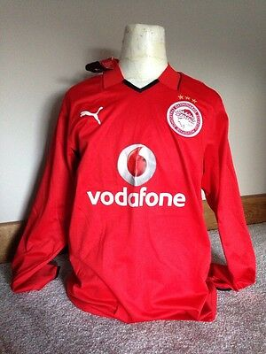 New With Tags Olympiakos 2006/07 Football Shirt / Jersey XL Long Sleeved 06/07
