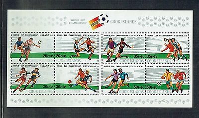 Cook islands 1982 World Cup Football MS unmounted mint