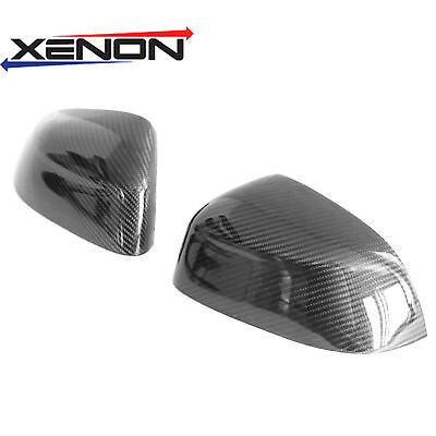 Real Dry Carbon Fiber side Mirror Covers for BMW X5 F15 / X6 F16