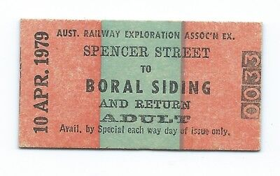 1979 Return Ticket SPENCER ST to BORAL SIDING