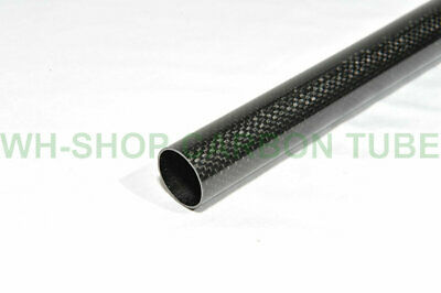 6mm OD X 4mm ID X 1000MM Carbon Fiber Tube 3K/Tubing Suit for RC Plane 6*4 H