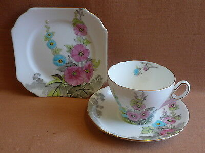 Beautiful Shelley Trio Rare Pattern  ...  cup saucer plate set