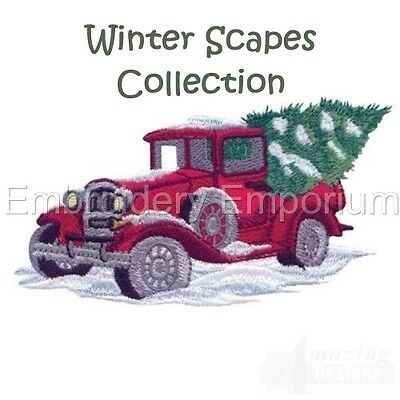 Winter Scapes Collection - Machine Embroidery Designs On Cd