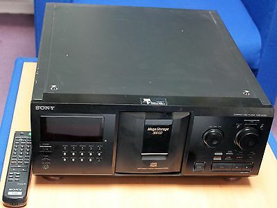 Sony MegaStorage CDP-CX355 CD Changer