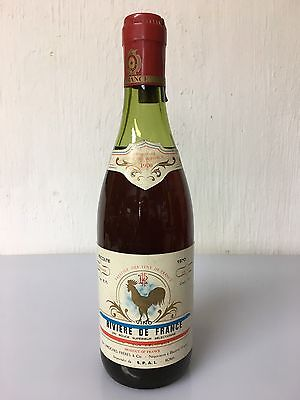 Loroches Freres & Cie Vino Rivere De France 1970 - 75cl 11% Vol Vintage