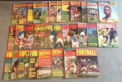 32 Charles Buchan Football Monthly Magazines