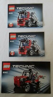 Lego Technic Mini Container Truck Manual 8065