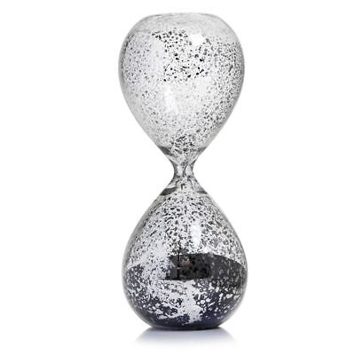 Mercury Stunning Crackled Effect Hourglass Traditional Concept With Modern Twist