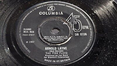 THE PINK FLOYD MONO UK COLUMBIA 1967 ARNOLD LAYNE Syd Barrett DB 8156