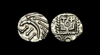 SS-WKJP - ANGLO-SAXON - SERIES E, C/B, AR Sceat, ca.695-740AD.       LEFT !!