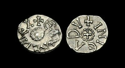 SS-WTFK - EANRED of NORTHUMBRIA, AR Sceat, ca.810-830AD.