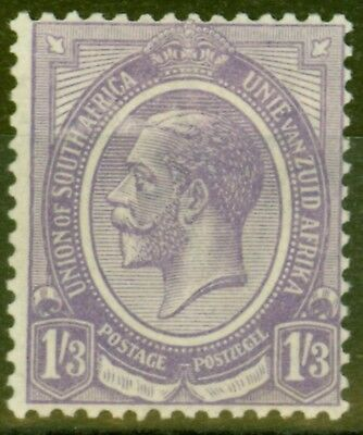 South Africa 1920 1s3d Violet SG13 Fine & Fresh Very Lightly Mtd Mint