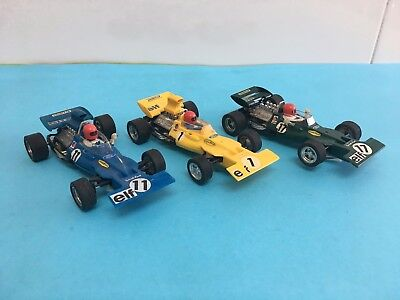 LOTE 3 TYRRELL FORD SCALEXTRIC EXIN REF C-48 MOTOR BOBINA tyrrell ford exin