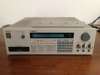 Akai S950 Professional MIDI Digital Sampler w/ Rack Ears LEGEND 100% WORKING