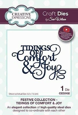 Creative Expressions Festive Collection Tidings of Comfort & Joy