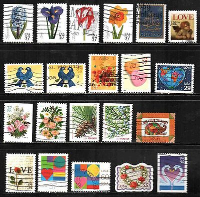 United States Collection Recent 20 Used  Lt-P10.11