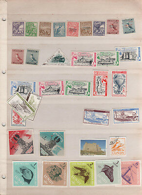 Lundy Island - 34 Different Stamps