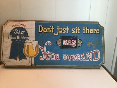 Vintage Bar Sign.  Pabts Blue Ribbon