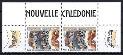 New Caledonia - Nouvelle - 2001 - ( UN - Year of Dialogue Among Civilizations )