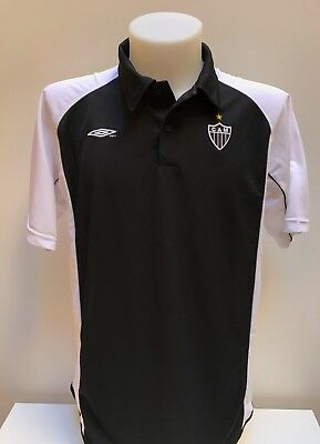 maglia calcio polo Atletico Mineiro umbro tag.L home shirt trikot maillot MC15