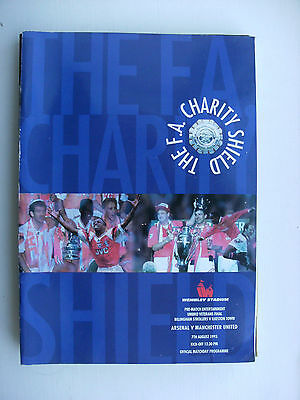1993 Charity Shield Arsenal v Manchester United 7-8-93
