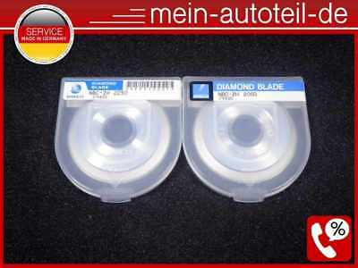 2x DISCO Diamond BLADE Wafersäge Wafer Dicing Blade NBC-ZH 2050 27HEDD, NBC, ZH
